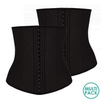 PACK OF 2 - Posh Affair Latex Waist Trainer