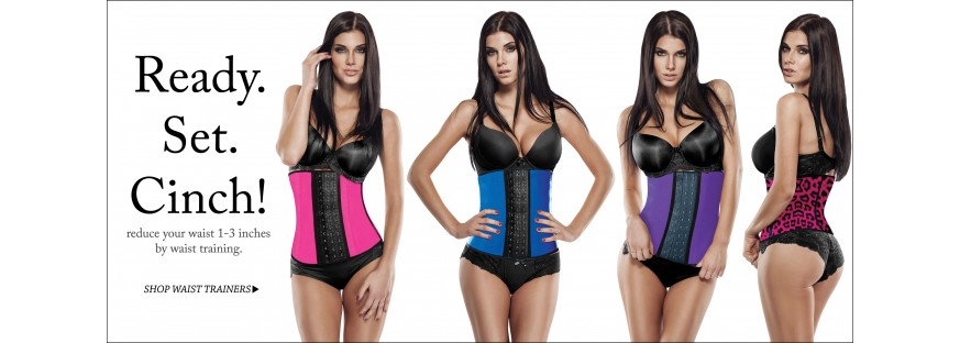 WAIST TRAINING CORSETS & WAIST CINCHERS